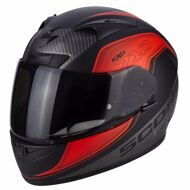 Шлем Scorpion EXO-710 Air Mugello Matt Black Red Grey