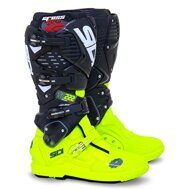 Кроссовые мотоботы Sidi Crossfire 3 SRS Cairoli TC222 Black Neon Yellow