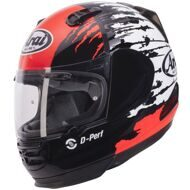 Шлем Arai Rebel Splash Black White Red