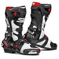 Мотоботы Sidi Rex White Black