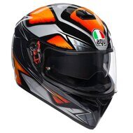 Шлем AGV K-3 SV Liquefy Black Orange