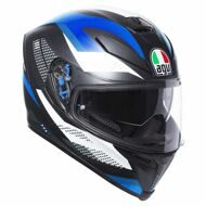 Шлем AGV K-5 S Marble Matt Black White Blue