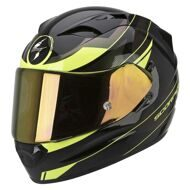 Шлем Scorpion Exo-1200 Air Fulmen Black Yellow