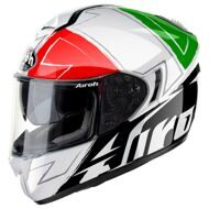 Шлем Airoh ST 701 Way White Black Red Green