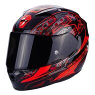 Шлем Scorpion Exo-1200 Air Solis Black Red
