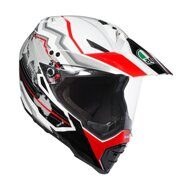 Шлем AGV AX-8 Dual Evo Earth White Black Red