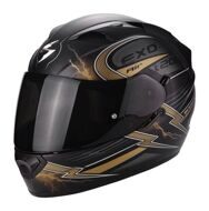 Шлем Scorpion Exo-1200 Air Fulgur Matt Black Gold