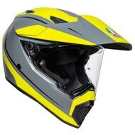 Шлем AGV AX9 Pacific Road Matt Grey Yellow Black