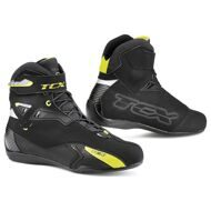 Мотоботы TCX Rush WP Black Yellow Fluo